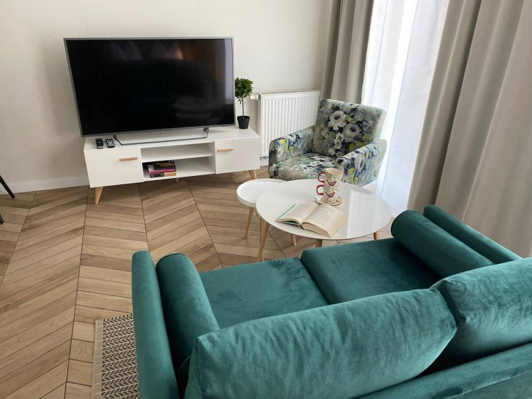 studio 2 apartament z tv